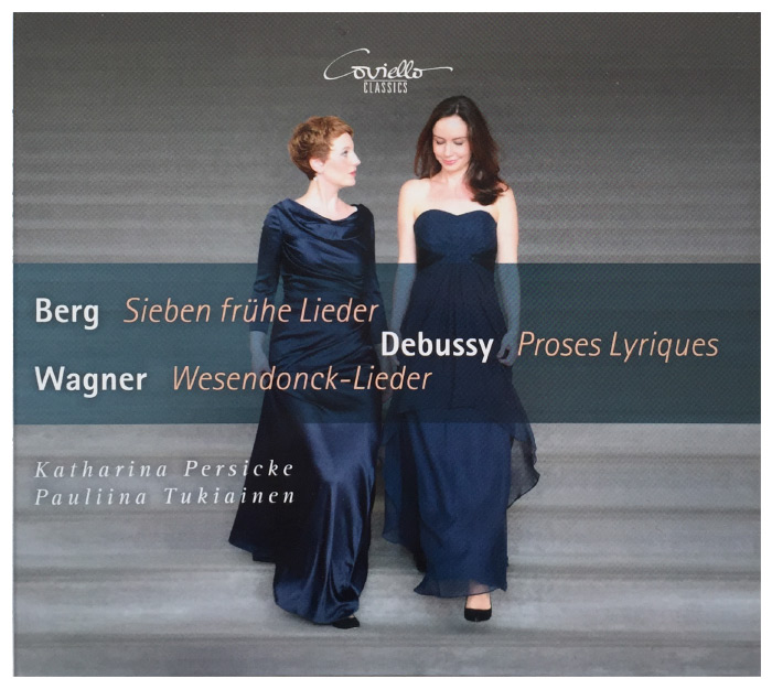 CD Cover Lieder Berg, Wagner, Debussy